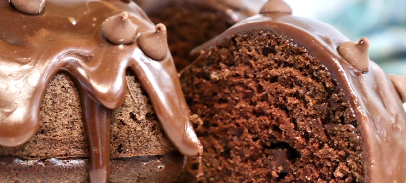 Dreamy Double Chocolate BundtCake