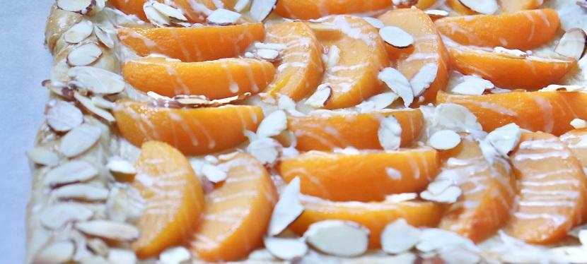 Peach & AlmondGalette