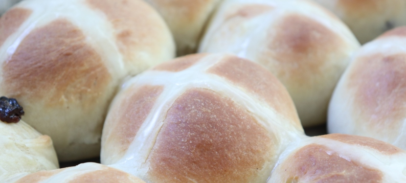 Quick Hot Cross Buns