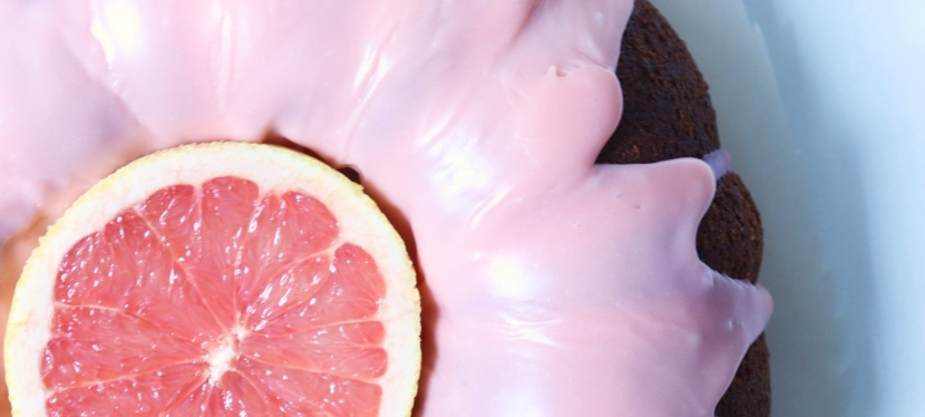 Grapefruit Cake : fluffy & flavourful
